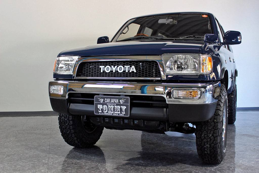 Hilux surf narrow style solid blue 前期