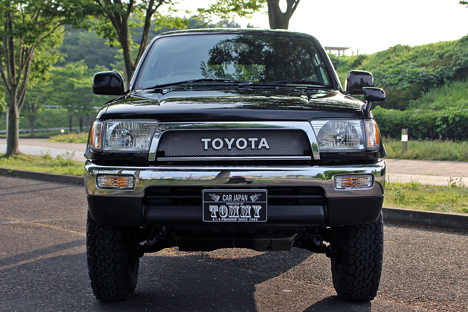 rzn185Hiluxsurf Dark Brown Metallic Narrow costom-fukudasama03