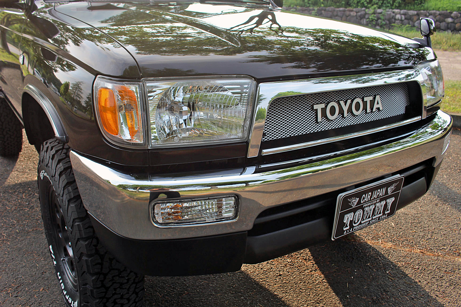 rzn185Hiluxsurf Dark Brown Metallic Narrow costom-fukudasama11