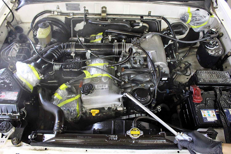 エンジンクリーニグのエンジンデグレザー2-1