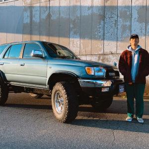 USの90'sのカルチャー(音楽やファッション)が好きで、車も90'sのものに乗りたいと考えていました。