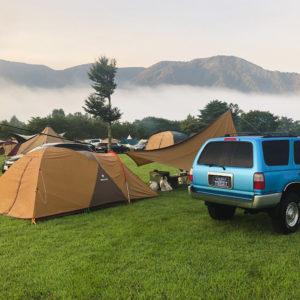 日々の通勤と、週末のアウトドア(キャンプ、釣り)で大活躍のサーフ。