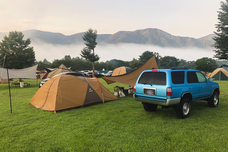 ハイラックスサーフ185ナローブルー/キャンプ